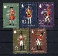 Antigua 1971 Uniformen Mi.Nr. 263/67 Kpl. Satz** - Antigua Und Barbuda (1981-...)
