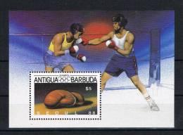 Antigua Und Barbuda 1987 Olympia Block 125 ** - Antigua Und Barbuda (1981-...)