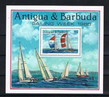 Antigua Und Barbuda 1988 Schiffe Block 139 ** - Antigua Und Barbuda (1981-...)