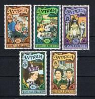 Antigua/Barbuda 1977 Elisabeth II Mi.Nr. 316-20 Kpl. Satz ** - Antigua Und Barbuda (1981-...)