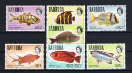 Antigua/Barbuda 1968 Fische Mi.Nr. 21-27 ** - Antigua Und Barbuda (1981-...)