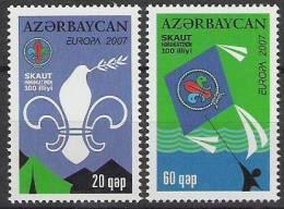 2007 Aserbeidschan  Azerbeidjan Mi. 679-80 **MNH - Europa-CEPT