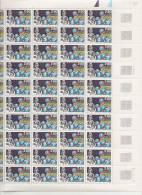 PHARMACIE HOSPITALIERE   1945-1995     + FEUILLE DE 50 TIMBRES A 2,80 FRANCS - Feuilles Complètes