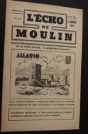 """Oct 1946 —> ALLAUCH En Provence Bouches-du-Rhône""""L'écho Du Moulin""""Syndicat D'initiative N°17 Rubriques Histoire - Provence - Alpes-du-Sud"""