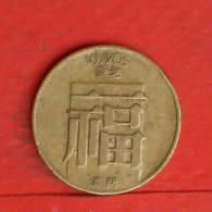 MACAU  10  AVOS  1982   KM# 20  -    (M903) - Macao
