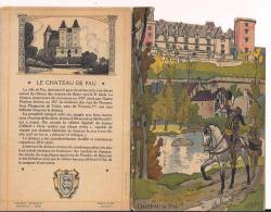 Pau Le Chateau Menu Champagne Charles Hiedsieck Env 1930 Dessins Pierlis Henri IV - Menus