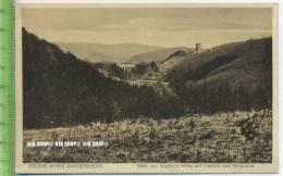 """""""Greene(Kreis Gandersheim) Blick Von Martha`s Höhe Auf Viadukt Und Burgruine"""" Um 1930/1940 Ungebrauchte Karte - Northeim"""