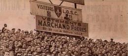 LILLE LOSC STADE TRIBUNE 1956 - Documentos Antiguos