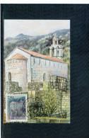 Jugoslawien / Yugoslavia 1998 Kloster / Monastery Montenegro Maximumkarte - Eglises Et Cathédrales