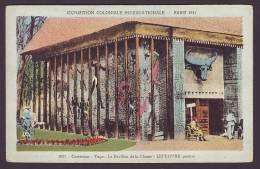 Paris - Exposition Mondiale 1931 - Cameroun-Togo - Le Pavillion De La Chasse - Ungelaufen - Ausstellungen