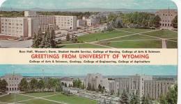 BR23775 University Of Wyoming    2 Scans - Etats-Unis