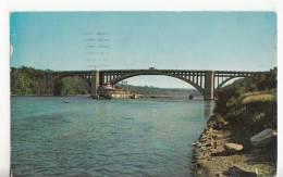 BR23782 Minneapolis Cappelen Memorial Bridge   2 Scans - Minneapolis