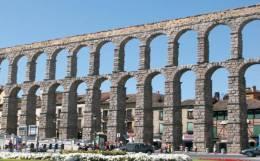Monuments Of Spain - Acueducto Romano De Segovia Postcard Collector - Monumentos