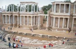 Monuments Of Spain - Teatro Romano De Merida Postcard Collector - Monumentos