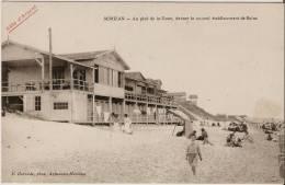 Mimizan. Au Pied De La Dune,devant Le Nouvel établissement De Bains. - Mimizan