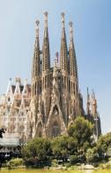 Monuments Of Spain - Sagrada Familia De Barcelona De Gaudi Postcard Collector - Monumentos