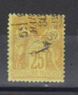 France N° 92 - 1876-1898 Sage (Type II)