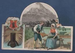 CHROMO DECOUPI ANCIEN - CHOCOLAT SUCHARD - GLARIS - Suchard