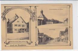 Gruß Aus Bauschheim  / Gasthof ZUR KRONE 1915 - Ruesselsheim
