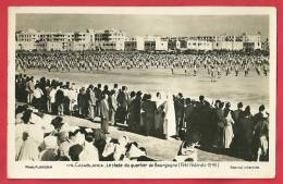 CPA N°7853 / CASABLANCA - LE STADE DU QUARTIER DE BOURGOGNE - Casablanca