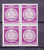 1955  N°26  BLOC DE 4 NEUF** - Service