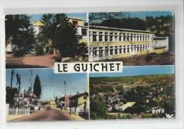 91 - LE GUICHET - GARE - GROUPE SCOLAIRE - MATERNITÉ - CPSM 1963 - Orsay