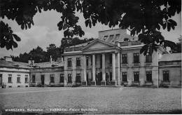 VARSOVIE - WARSZAWA - Palais Belvédère - Belwader - TBE - 2  Scans - Pologne
