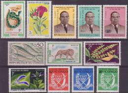 µ12 -  CONGO - LOT TIMBRES NEUFS SANS CHARNIERE - LUXE - Congo - Brazzaville