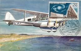 Singapore, Malacca Strait : Daedalus Haviland Express Air Liner, Singapore Brisbane. Salon Aéronautique Le Bourget 1963. - Singapour
