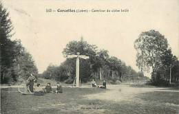 Loiret : Oct12 212 : Cercottes  -  Carrefour Du Chêne Brûlé - France