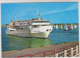 CPM BATEAU LE MEDOCAIN En 1980, - Barche