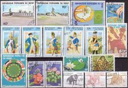 µ12 -  BENIN - LOT TIMBRES OBLITERES - Très Bon état - Bénin – Dahomey (1960-...)