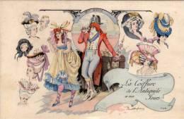 Paul DUFRESNE - La Coiffure De L' Antiquité A Nos Jours      (47645) - Otros Ilustradores