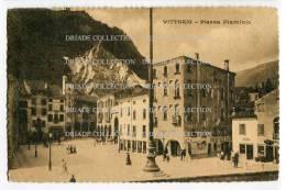 CARTOLINA PIAZZA FLAMINIO VITTORIO VENETO TREVISO VENETO - Treviso