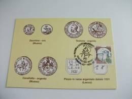 Monete Zecchino Oro Testone D'argento Cavallotto Argento Pezzo Rame 437° Fiera Del Perdono Melegnano - Monete (rappresentazioni)