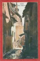68 - THANN - Altes Gässchen - Carte Signée KAMMERER - Thann