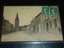 JARNY - GRANDE RUE  - CAFE RESTAURANT - 54 MEURTHE ET MOSELLE - Jarny