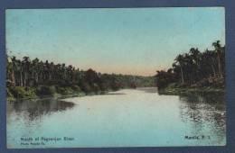 FILIPINAS - CP COLOR MOUTH OF PAGSANJAN RIVER - MANILA P. I. - PHOTO SUPPLY Co - Filipinas