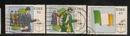 IRELAND - EIRE - 1998 - DEMOCRACY  Yvert # 1081-1083-1084 - USED - Ireland
