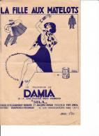 DAMIA    LA  FILLE  AUX  MATELOTS - Non Classés