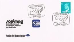 Carta Sonimag BARCELONA 1984. Congrés Catalá MEDICINA Teball - 1931-Hoy: 2ª República - ... Juan Carlos I