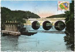CPSM - GF - Environs De Bourganeuf (Creuse) Le Pont Du Palais - Zonder Classificatie