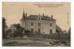 CPA 44 CARQUEFOU  Château Du Bois-Saint-Lys Côté Est - Carquefou