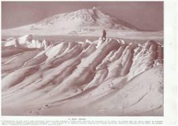 Le Mont Erebus     L Antartique    Pole Region Polaire  Documentation Scolaire - Vieux Papiers