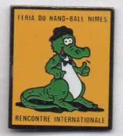 Féria Du Handball Nimes , Crocodile - Pallamano
