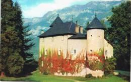 Postal SONNAZ (Savoie) . Le Chateau - Francia