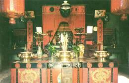 The Snake  Temple Penang - Maleisië