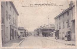 CPA BELLEVILLE 69 - Quartiers De La Croisée De Belleville Et De Saint-Jean-d'Ardières - Belleville Sur Saone
