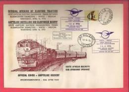 RSA 1976 Enveloppe South African Railways - Trains