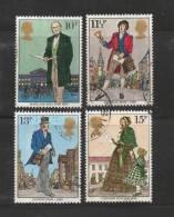 UK 1979 Used Stamp(s) Sir Rowland Hill Nrs. 804-807 - 1952-.... (Elizabeth II)